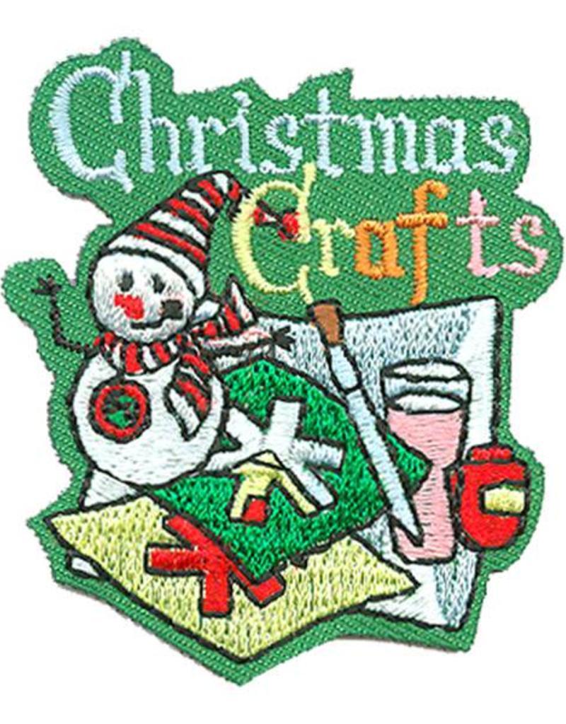 Advantage Emblem Screen Prnt Christmas Crafts Fun Patch Girl