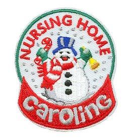 Advantage Emblem & Screen Prnt Nursing Home Caroling Fun Patch
