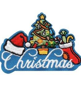 Christmas Tree & Stocking Fun Patch