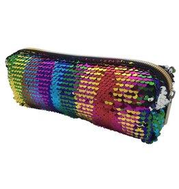 Rainbow Sequin Slim Bag