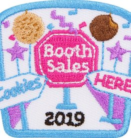 LITTLE BROWNIE BAKER 2019 Cookie Booth Sales Patch