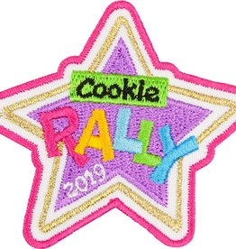 LITTLE BROWNIE BAKER 2019 Cookie Rally Patch