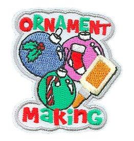 Advantage Emblem & Screen Prnt Ornament Making Fun Patch