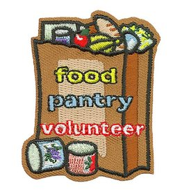 Advantage Emblem & Screen Prnt Food Pantry Volunteer Fun Patch