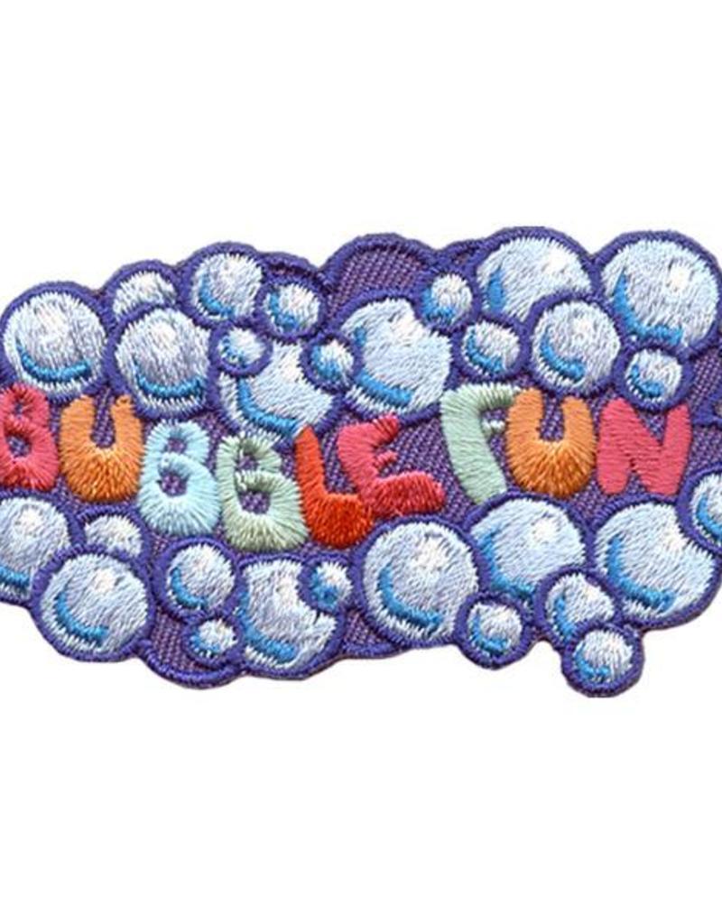 Advantage Emblem & Screen Prnt Bubble Fun Fun Patch