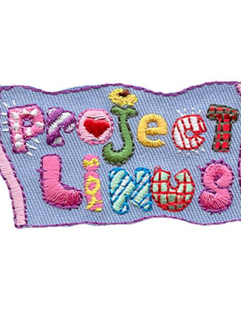 Advantage Emblem & Screen Prnt Project Linus Blanket Fun Patch