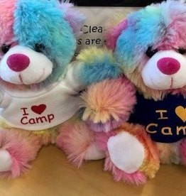 Alexon I Heart Camp Tie Dye Berry Bear 12DOC
