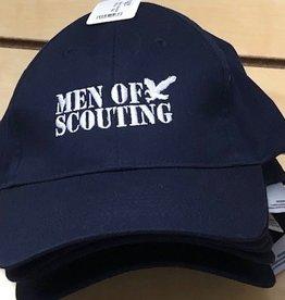 Geri's Screenprinting ! Men of Scouting BB Cap 12DOC - Blue