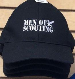 Geri's Screenprinting ! Men of Scouting BB Cap 12DOC - Black