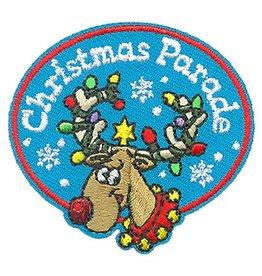 Advantage Emblem & Screen Prnt Christmas Parade Fun Patch