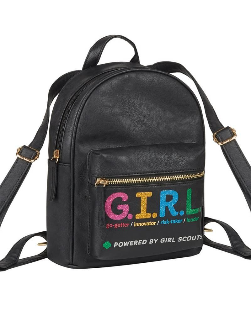 GIRL SCOUTS OF THE USA G.I.R.L. Mini Backpack Bag