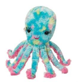 Douglas Co Inc Cara Turquoise Octopus w/ Eyelashes Plush