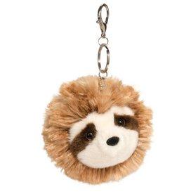 Douglas Co Inc Sloth Pom Clip Plush