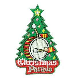 Merry Christmas Scout Badge