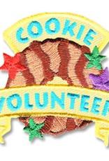 Cookie Volunteer w/ Samoa & Stars Fun Patch