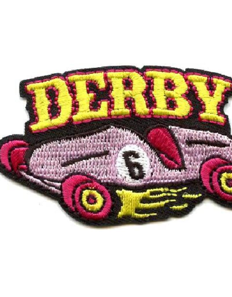 Advantage Emblem & Screen Prnt Derby Car Fun Patch