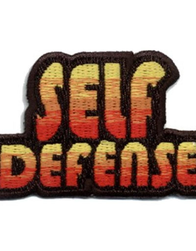 Advantage Emblem & Screen Prnt Self Defense Fun Patch