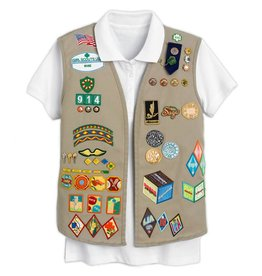 GIRL SCOUTS OF THE USA Cadette/Senior/Ambassador Vest