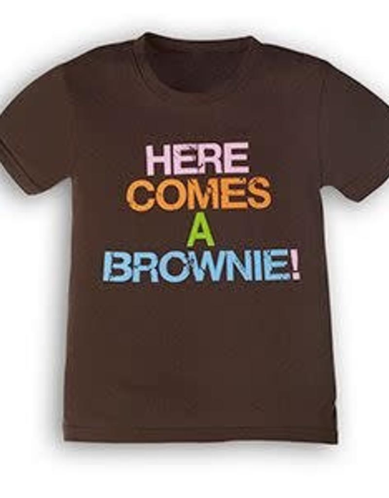 GIRL SCOUTS OF THE USA Here Comes A Brownie Tee
