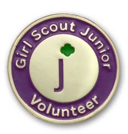 GIRL SCOUTS OF THE USA GS Junior Volunteer Pin