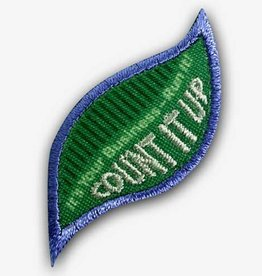 GIRL SCOUTS OF THE USA Daisy Count It Up Badge