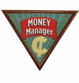 GIRL SCOUTS OF THE USA Brownie Money Manager Badge