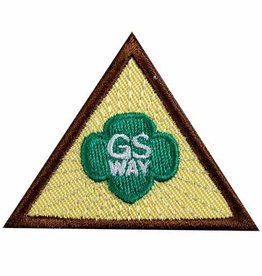 GIRL SCOUTS OF THE USA Brownie Girl Scout Way Badge