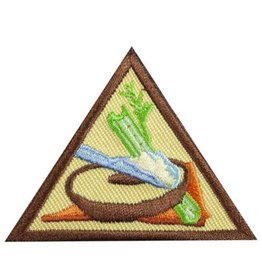 GIRL SCOUTS OF THE USA Brownie Snacks Badge