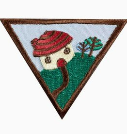 GIRL SCOUTS OF THE USA Brownie Household Elf Badge