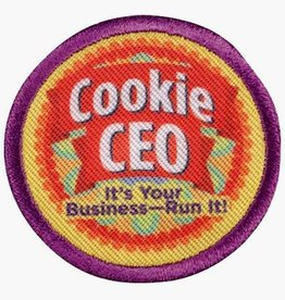 GIRL SCOUTS OF THE USA Junior Cookie CEO Badge