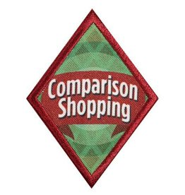 GIRL SCOUTS OF THE USA Cadette Comparison Shopping Badge