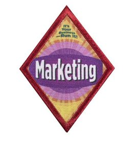 GIRL SCOUTS OF THE USA Cadette Marketing Badge