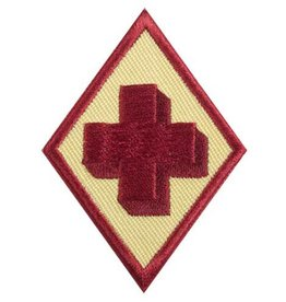 GIRL SCOUTS OF THE USA Cadette First Aid Badge