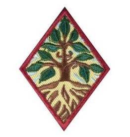 GIRL SCOUTS OF THE USA Cadette Trees Badge