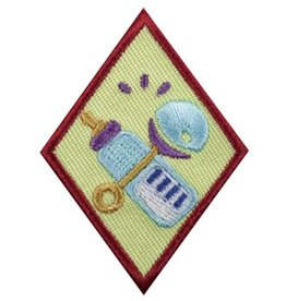 GIRL SCOUTS OF THE USA Cadette Babysitter Badge