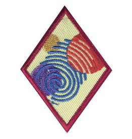 GIRL SCOUTS OF THE USA Cadette Special Agent Badge