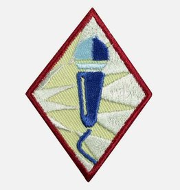 GIRL SCOUTS OF THE USA Cadette Public Speaker Badge