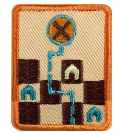 GIRL SCOUTS OF THE USA Senior Game Visionary Badge