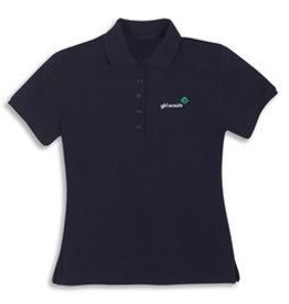 GIRL SCOUTS OF THE USA GS Navy Polo 2X
