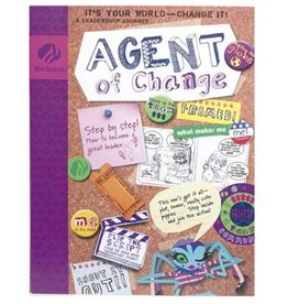 GIRL SCOUTS OF THE USA Junior Journey Agent of Change Book