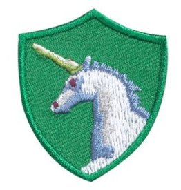 GIRL SCOUTS OF THE USA Unicorn Troop Crest