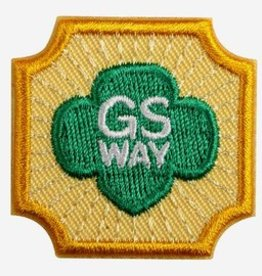 GIRL SCOUTS OF THE USA Ambassador Girl Scout Way Badge