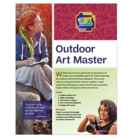 GIRL SCOUTS OF THE USA Ambassador Outdoor Art Master Requirements