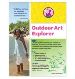 GIRL SCOUTS OF THE USA Junior Outdoor Art Explorer  Requirements