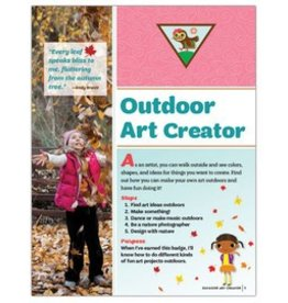 GIRL SCOUTS OF THE USA Brownie Outdoor Art Creator Requirements