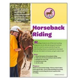 GIRL SCOUTS OF THE USA Junior Horseback Riding Requirements