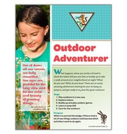 GIRL SCOUTS OF THE USA Brownie Outdoor Adventurer Requirements
