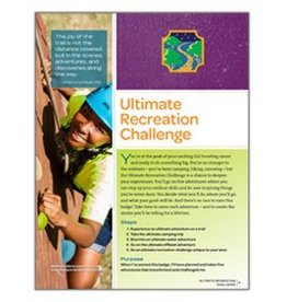 GIRL SCOUTS OF THE USA Ambassador Ultimate Recreation Requirements