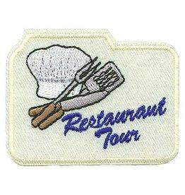 Advantage Emblem & Screen Prnt Restaurant Tour Fun Patch