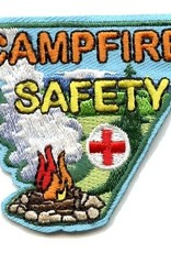 Advantage Emblem & Screen Prnt Campfire Safety Fun Patch